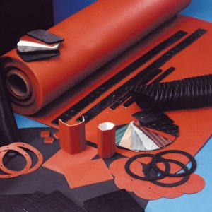 solid/sponge rubber seal